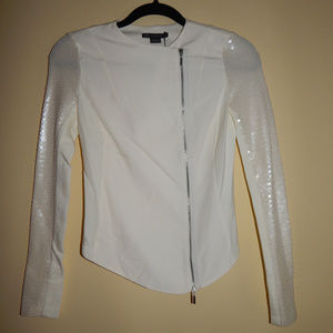 A/X Armani Exchange Sequined Sleeve Jacket